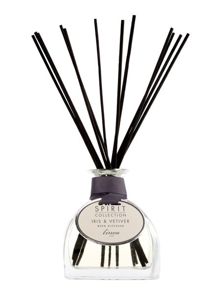 Linea Iris & vetiver scented reed diffuser