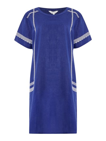 BRAINTREE Embroidered tunic