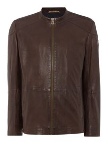 Jermon Slim Fit Sheep Napa Leather Jacket