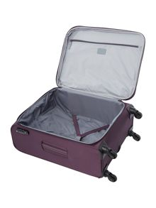 Marcus 4 wheel purple medium case