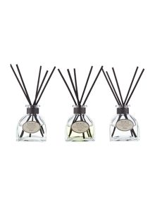 Linea scented reed diffusers set of 3