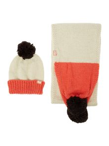Radley Fleet street knitted scarf and hat set