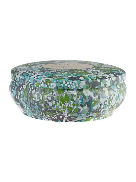 Linea Iris & vetiver tin scented candle
