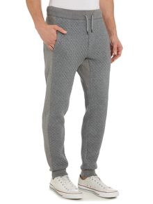 Michael Kors Quilted front drawstring tracksuit bottoms