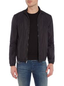 Michael Kors Zip through nylon harrington jacket