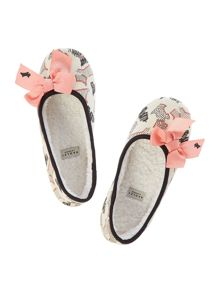 Fleet street ballerina slipper