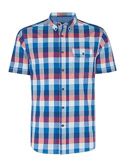 Men's Howick Holden check short sleeve shirt