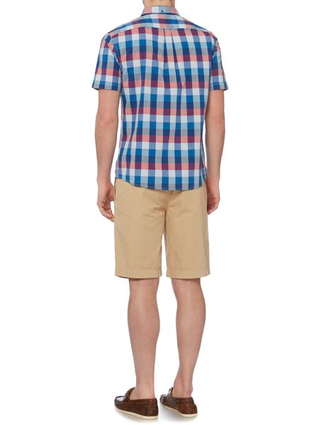 Howick Holden check short sleeve shirt