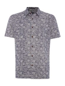 Howick Pittsfield printed short sleeve shirt