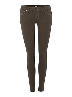 Verdugo ultra skinny ankle jean in faded olive