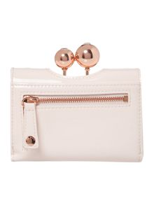 Ted Baker Lottay light pink small patent flap over purse