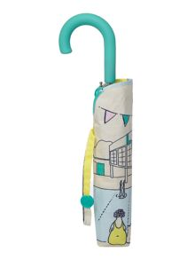 Radley Lido mini crook handle umbrella