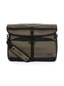 Tundra khaki messenger bag