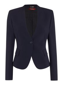 Max Mara Pisa smart button front jacket