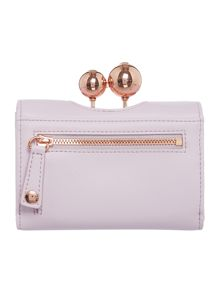 Ted Baker Lillae light pink small matte flap over purse