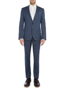 Huge Genius Slim Micro Check Suit
