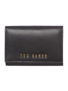 Ted Baker Carley black small flap over purse