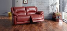Linea Burton 3 Seater Power Recliner Sofa