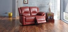 Linea Burton 2 Seater Manual Recliner Sofa