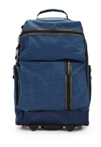 Urbanite navy trolley backpack
