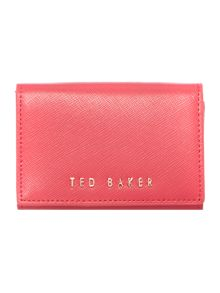 Ted Baker Carley pink small flap over purse