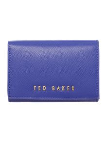 Ted Baker Carley blue small flap over purse
