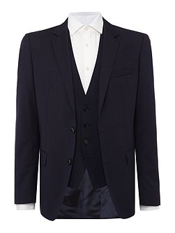 Huge Genius Texture Three-Piece Suit