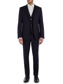 Hugo Huge Genius Texture Three-Piece Suit