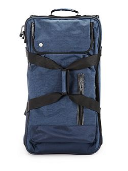 Urbanite navy upright trolley bag