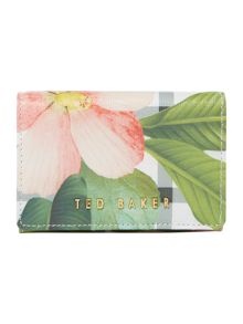 Ted Baker Emelina white floral small flap over purse