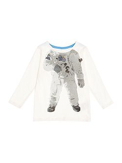 Boys Astronaut body graphic tee