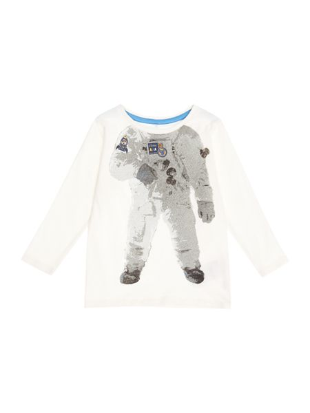 name it Boys Astronaut body graphic tee