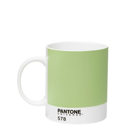 Pantone Large Cup with Handle Light Green