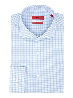 Jason Slim Grid Check Shirt