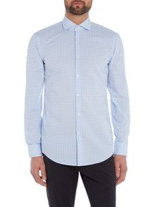 Hugo Jason Slim Grid Check Shirt