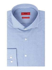 Hugo Jason Slim Gingham Shirt