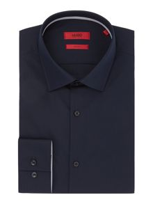 Hugo Joey Slim Contrast Trim Shirt