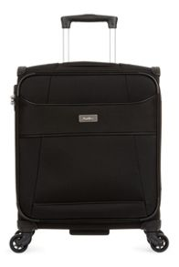 Delta C1 black 4 wheel cabin suitcase