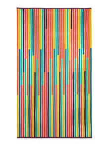 Linea Multistripe beach towel
