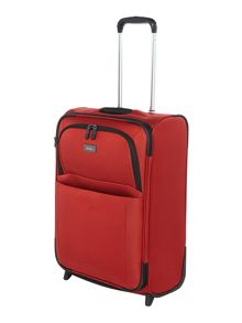 Helix C1 red 2 wheel soft cabin case