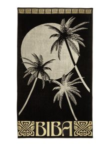 Biba Palm tree beach towel