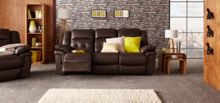 Tennessee 3 Seater Manual Recliner Sofa