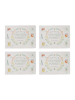 Market Place Cork Placemat Set Of 4