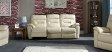 Texas 3 Seater Manual Recliner Sofa