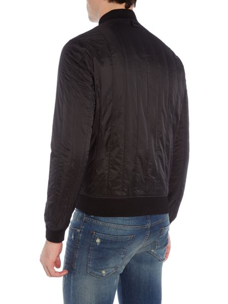 Michael Kors Vertical padded bomber jacket