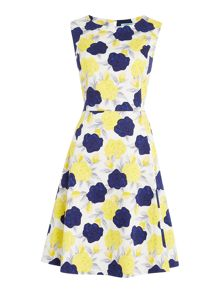 Dickins & Jones Floral Fit and Flare Dress