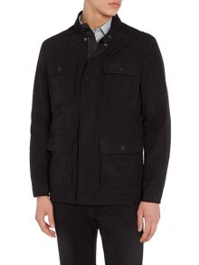 Michael Kors Funnel neck 4 pocket field jacket