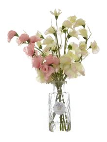 Shabby Chic Sweet Pea Arrangement