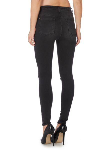 7 For All Mankind Slim illusion super high waist skinny jean