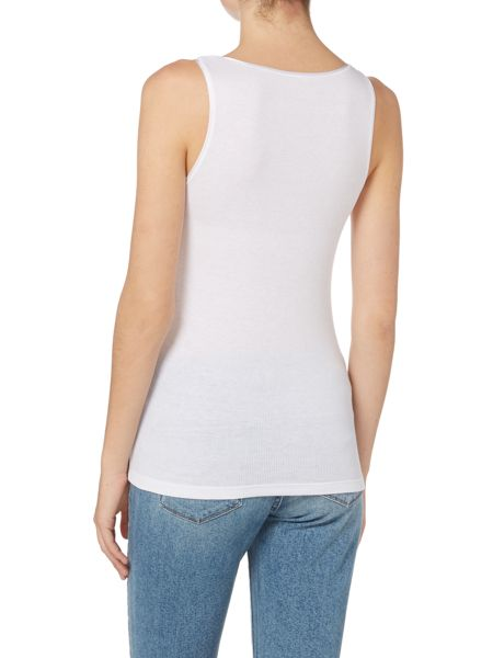 Tommy Hilfiger Modal cotton ribbed vest top